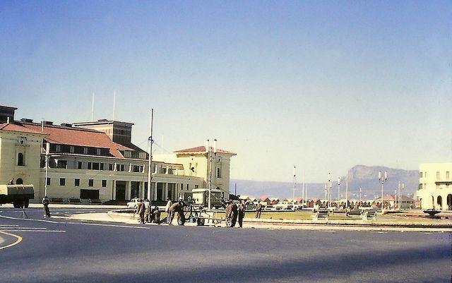 Muizenberg Pavilion, Cape Town, South Africa, 1970, photograph by Etienne du Plessis.