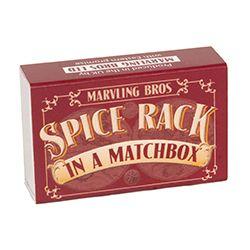 Spice Rack in a Matchbox