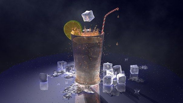 Lód, Herbata Mrożona, Kostki Lodu