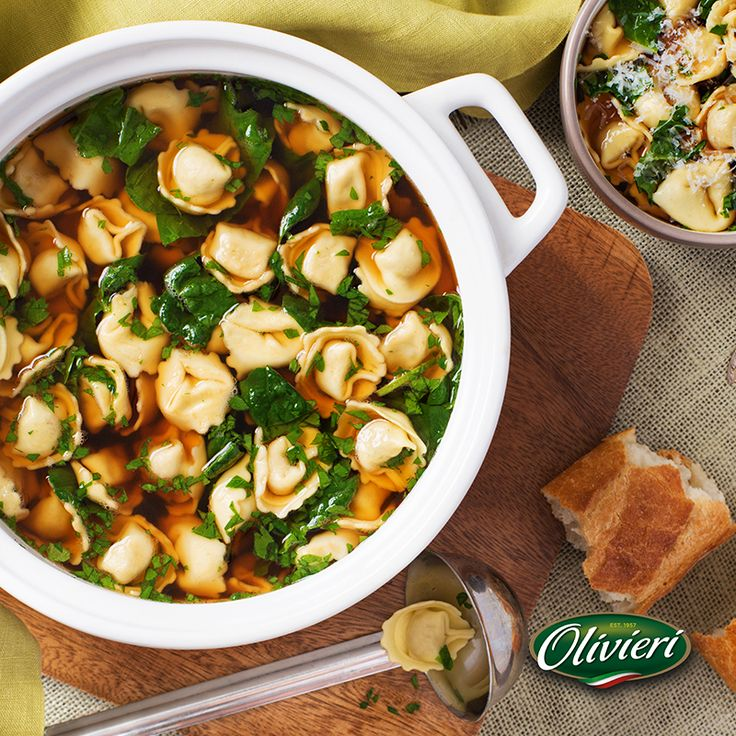 There's nothing better than the delicious flavours of our hearty Mama's Tortellini Zuppa recipe to warm up on a cold day! Buon Appetito!