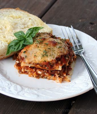 Pioneer Woman's lasagna... I am adding this here because I made this and froze it like 3 months ago.  Defrosted and baked today and it was delish!  Did not taste at all like reheated freezer food!  Would be a good make ahead and take to a family in need.
