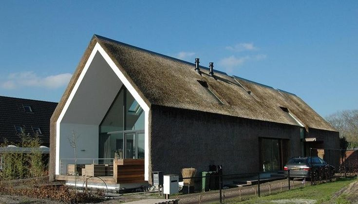 ARCHES architecten BNA  - Rieten villa
