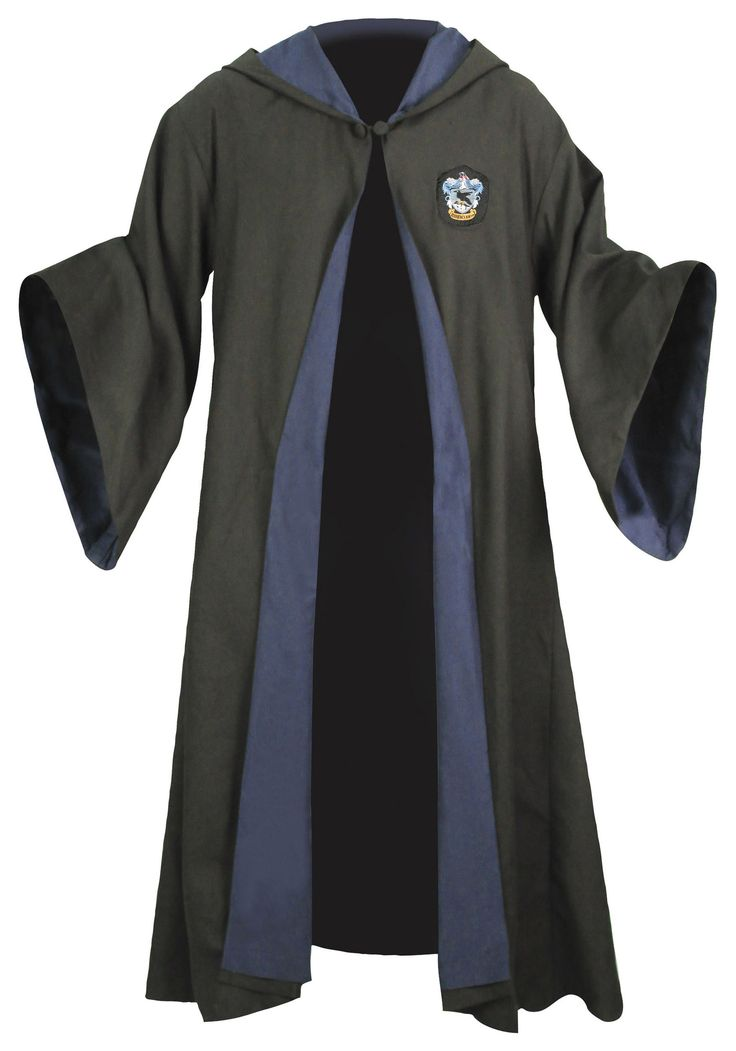 Harry Potter Youth Adult Robe Cloak Gryffindor/Slytherin/Hufflepuff/Ravenclaw