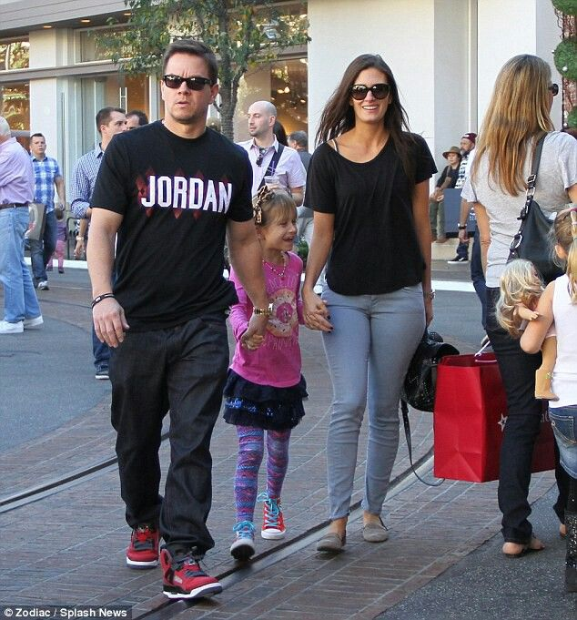 Mark Wahlberg and wife Rhea Durham
