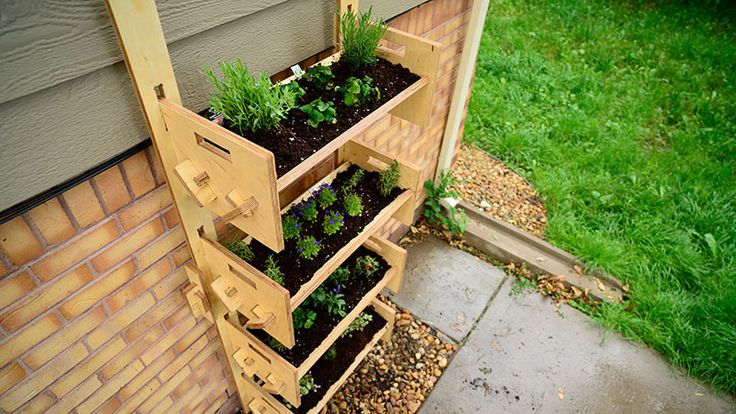 42 best images about garden stuff on pinterest planters for Flat pack garden decking