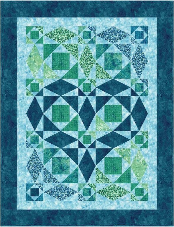 254 best storm at sea quilts images on pinterest quilt for Storm at sea quilt template