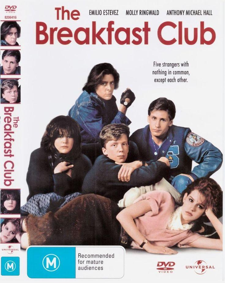 The Breakfast Club DVD R4 Emilio Estevez, Molly Ringwald