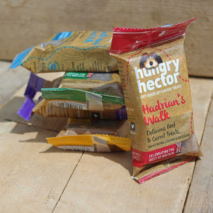 Hungry Hector Grain-Free Dog Treats. Made in the UK.