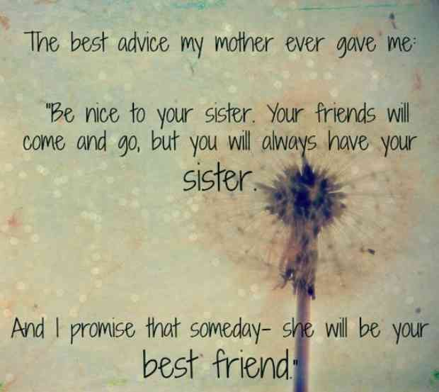 20 Quotes To Thank Your Sister For Having Your Back Through Thick
