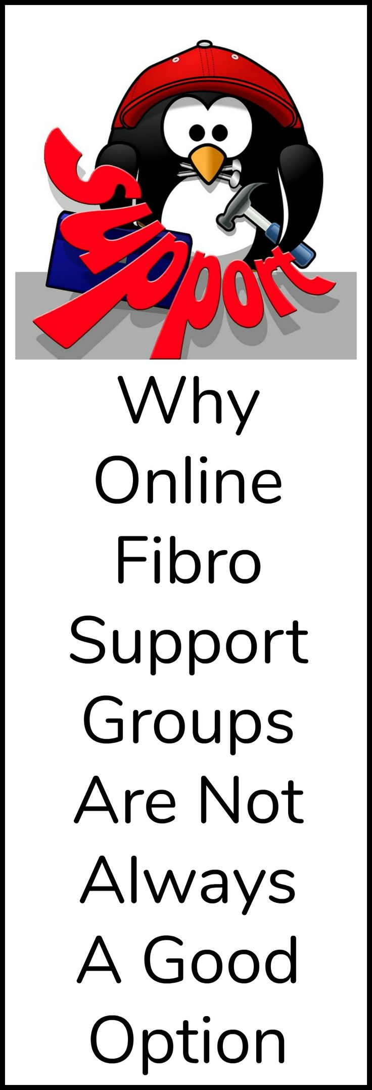 Why online fibromyalgia support groups can be harmful.