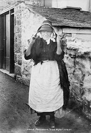 A Penzance fishwife 1890 - Collections - Penlee House Gallery and Museum Penzance Cornwall UK