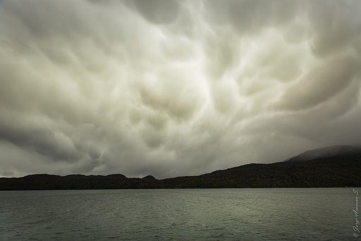 Nubes mamatus camino a Laguna San Rafael