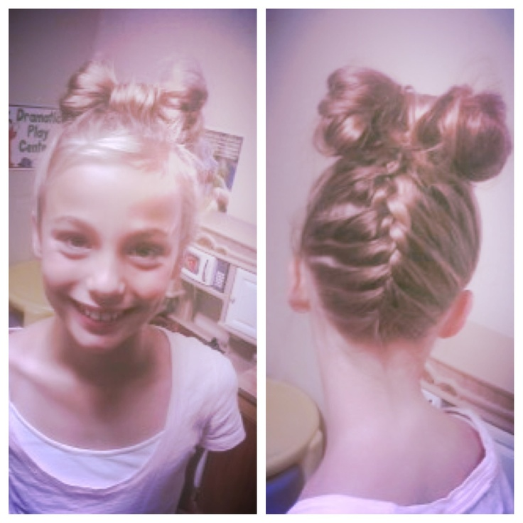Cute hair style for little girls