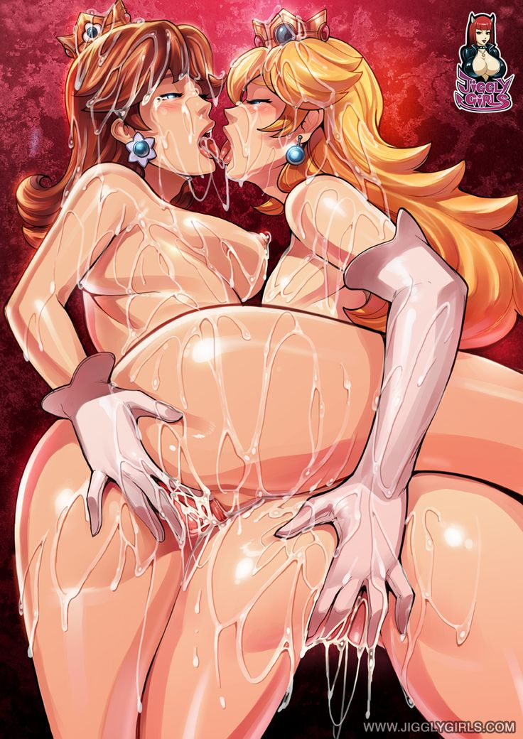 princess-peach-naked-squirting