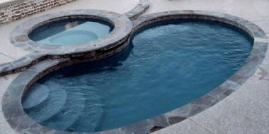 Solstice - fiberglass inground pool