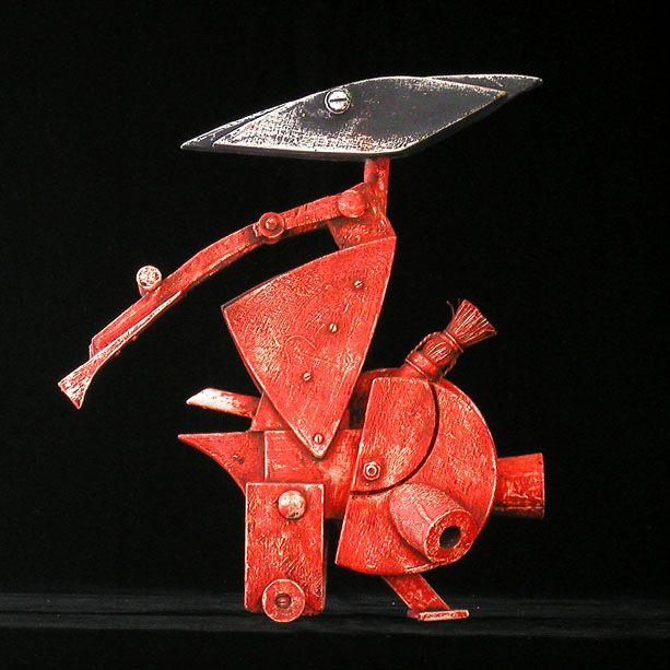 """Assembled Sculpture """"Lone Fighter 26.sch.gr."""""""