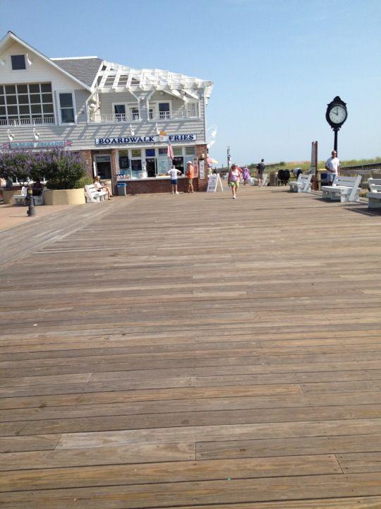 Bethany Beach Boardwalk in Bethany Beach, DE