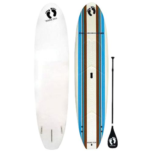 Hang Ten Explorer 10.6 ft. Soft Top SUP Board (HNG18030106) - White   - Online Only