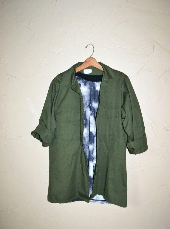 Army Green Utility Jacket