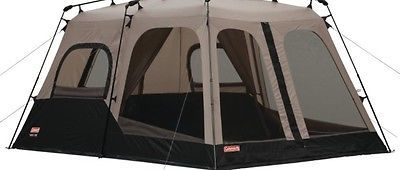 8 Person Instant Camping Tent Coleman 2 Room Hiking Outdoor Survival Free Shippi