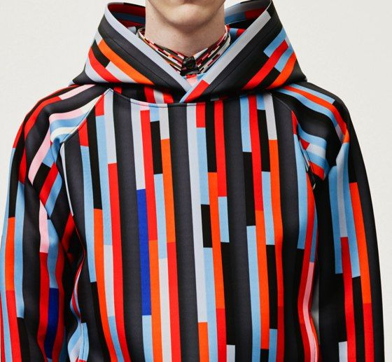 Christopher Kane #stripes
