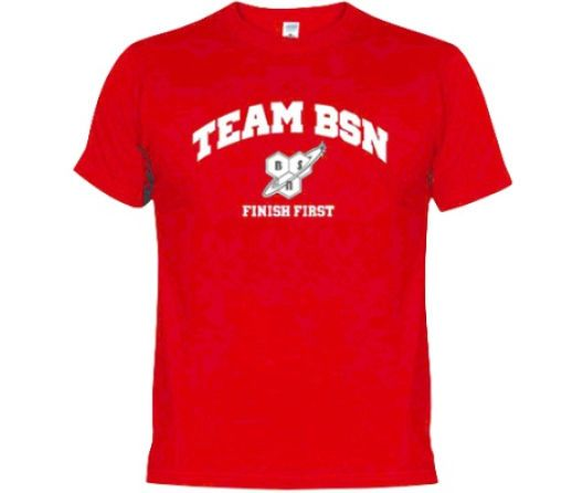 Team bsn finish first gym t-shirt #bodybuilding #sports top red *all #sizes*,  View more on the LINK: http://www.zeppy.io/product/gb/2/262786276915/