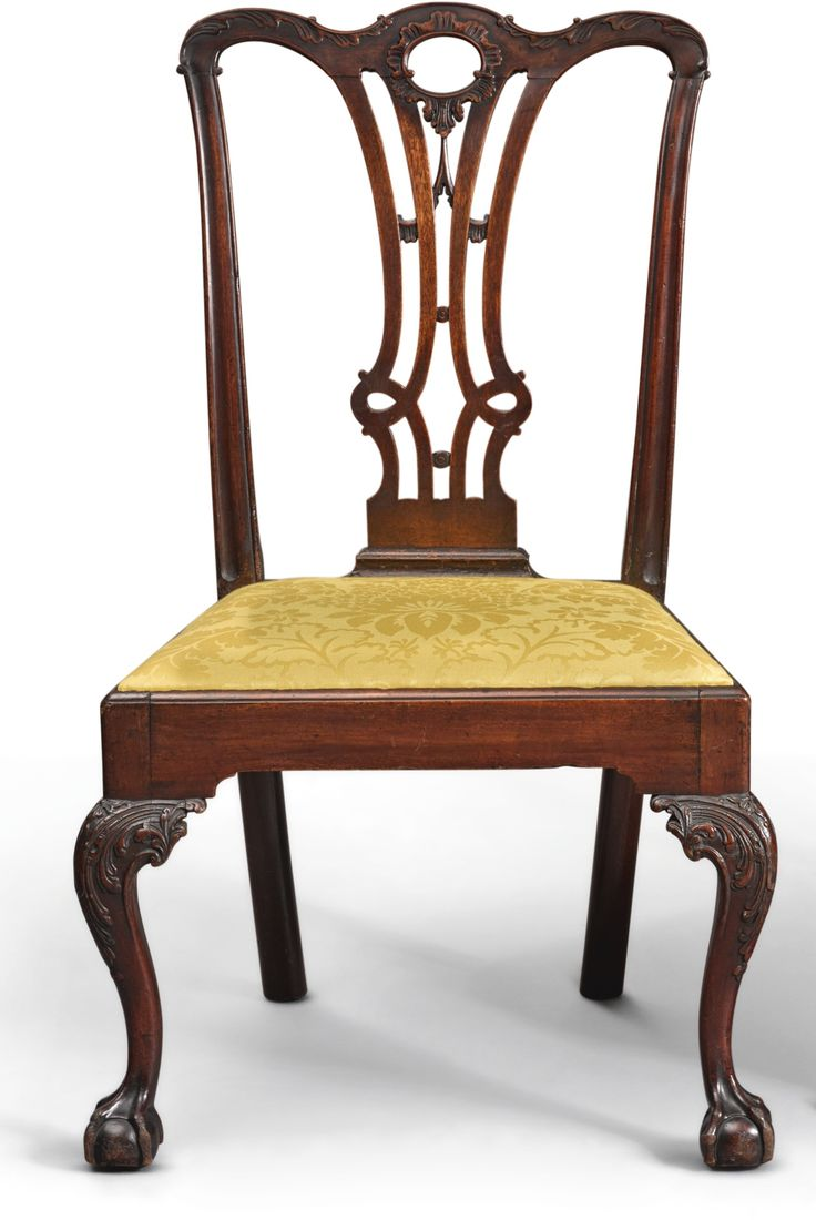 Antique chippendale chairs - Chippendale Carved And Figured Mahogany Side Chair Possibly From The Benjamin Randolph Workshop Philadelphia