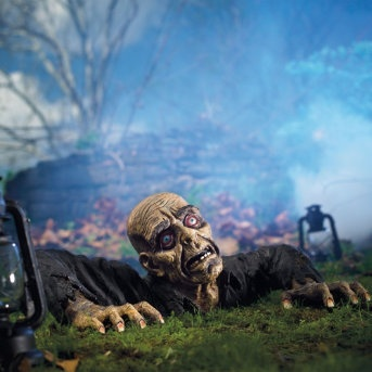 i need this in my collection zombie with lights sound via grandinroad zombie decorationsoutdoor halloween - Best Outdoor Halloween Decorations