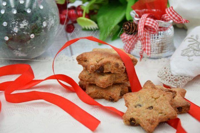Biscotti integrali mandorle e cioccolato