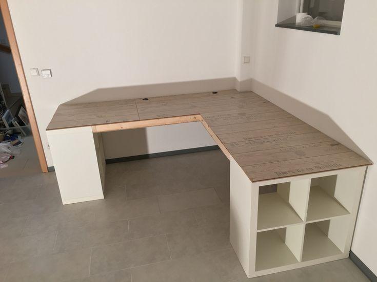 Ikea Regal Expedit Schreibtischlaminat Ikea Regal Expedit Schreibtischlaminat   – Stauraum Kinderzimmer