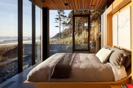 Imagem - Casas de sonho: Uma mansão na praia com estrutura de aço e paredes de vidro (fotos)
