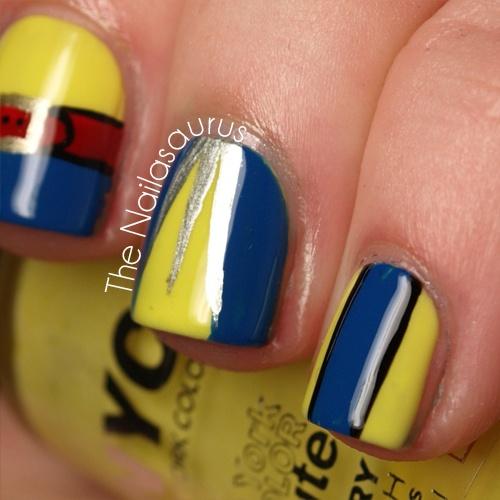 wolverine nail art - Google Search