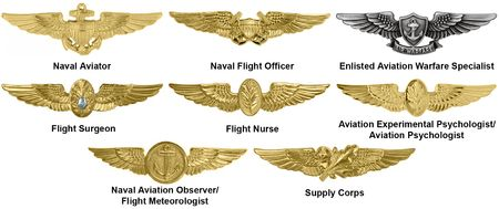 naval helicopter gold wings   Badges of the United States Navy - Wikipedia, the free encyclopedia