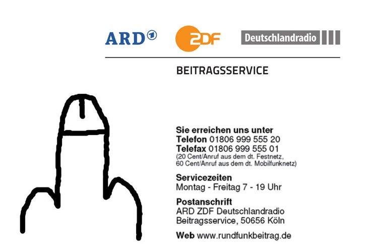 GEZ/Rundfunkbeitrag: Strafanzeige gegen Sachbearbeiterin des Finanzamts Berlin-Neukölln - Nötigung, Erpressung und Hochverrat  - Sehr geehrte Staatsanwaltschaft Berlin, hiermit erstatte ich Anzeige gegen die Sachbearbeiterin Frau G. (Finanzamt Neukölln; Thiemannstr. 1; 12059 Berlin; (030)9024-16XXX) wegen Nichterfüllung von...