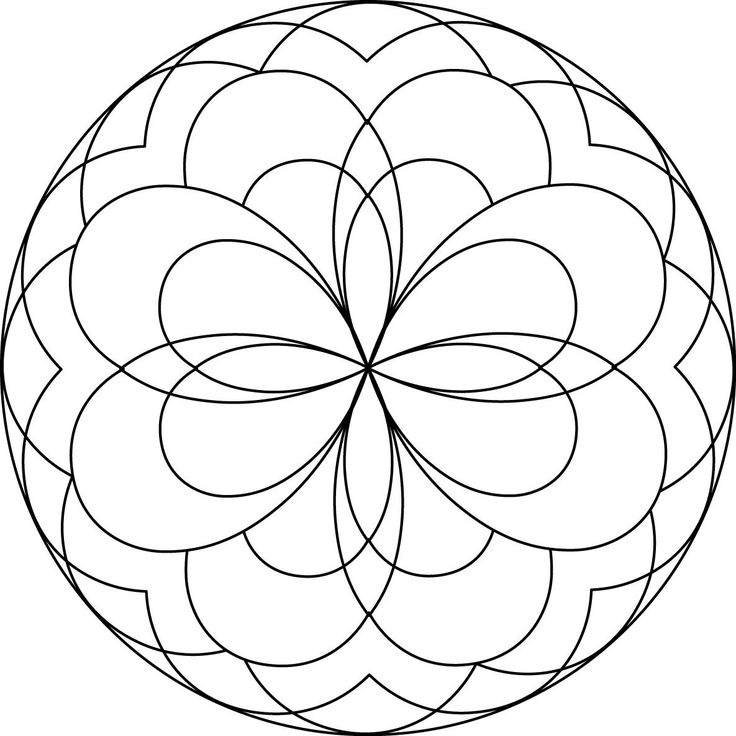 mandalas to print and color | Mandalas for Children | Centrum Mandala