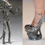 La visione di H.R.Giger nella moda di Alexander McQueen