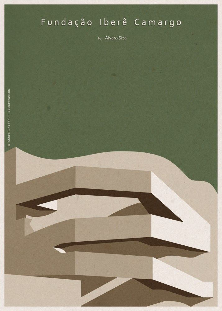 Giveaway: Andre Chiote Illustrations of Iconic Buildings