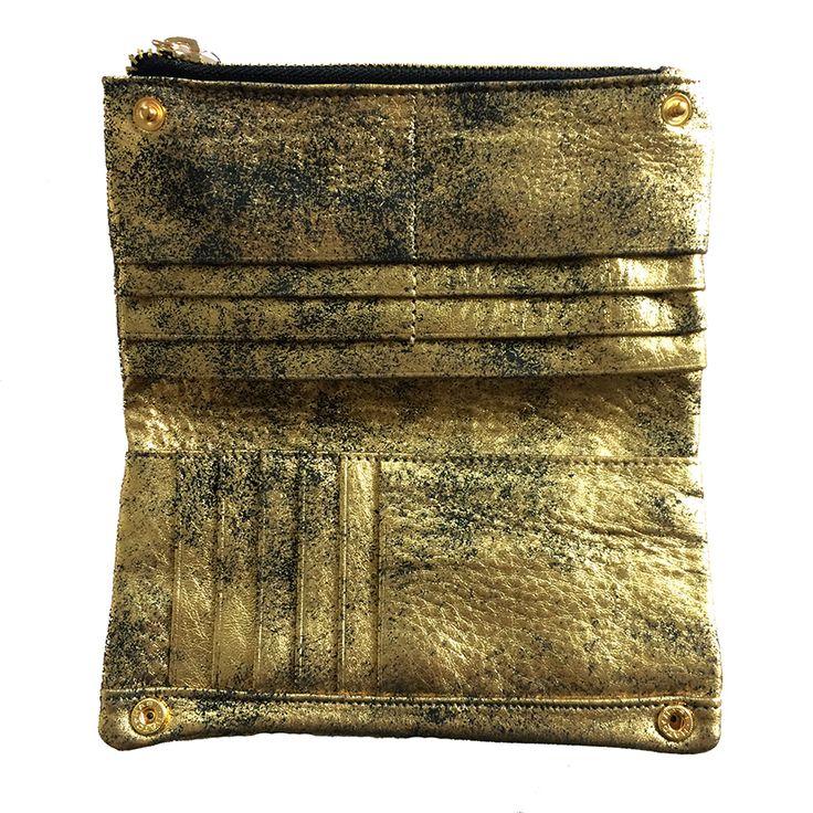 Gold digger wallet | Dean & Nadine
