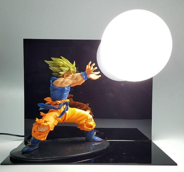 Dragon Ball Kamehameha Attack Super Saiyan Son Goku DIY ...