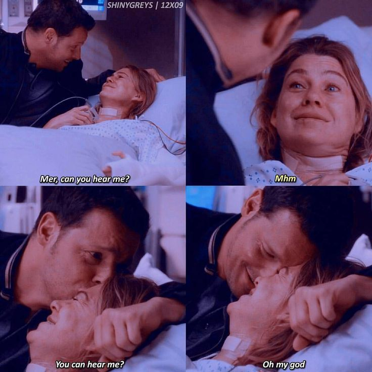 I just loved the scene so much! I want Alex Karev as my person