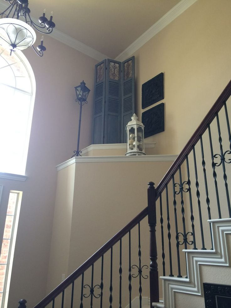 Decorate Foyer High Ceiling : Best ideas about decorating ledges on pinterest plant
