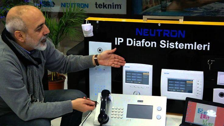 IP DİAFON SİSTEMLERİ  Trakya IP Diafon Sistemi Ana Bayimiz Serlitmer