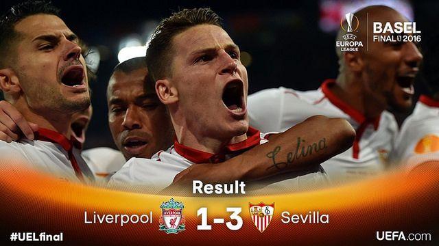 Europa League (Final): Liverpool 1 - Sevilla FC 3 | Football Manager All Star