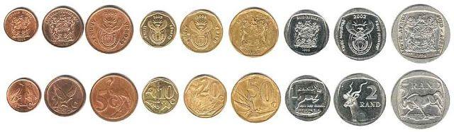 SA coinage