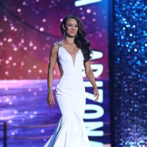 MaddieRose Holler on the Miss America stage. Photo: Miss America Organization Facebook Page