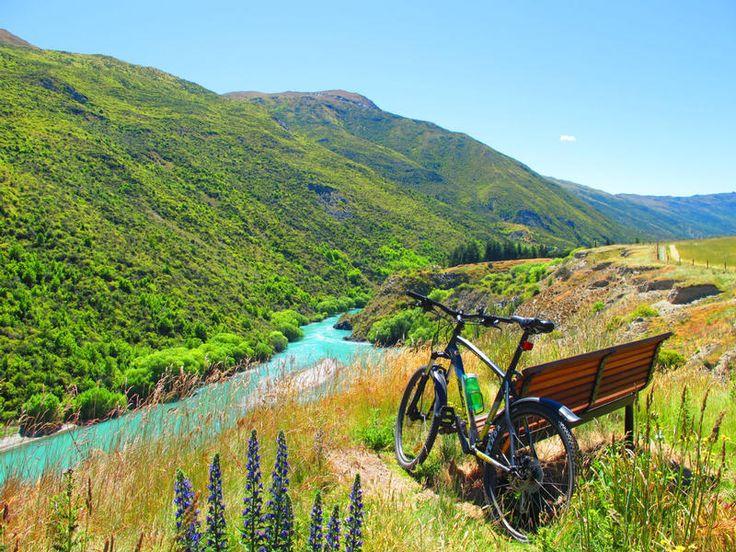Gibbston River Trail, Central Otago #NewZealand