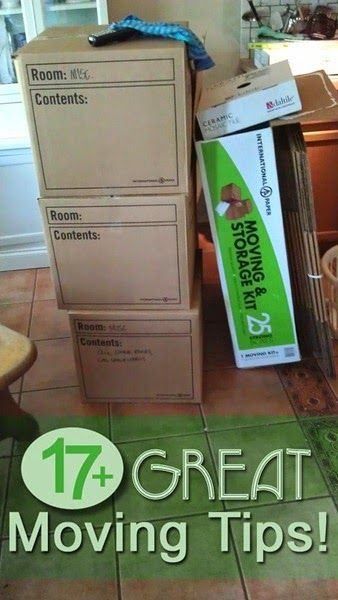17+ Great Moving Tips