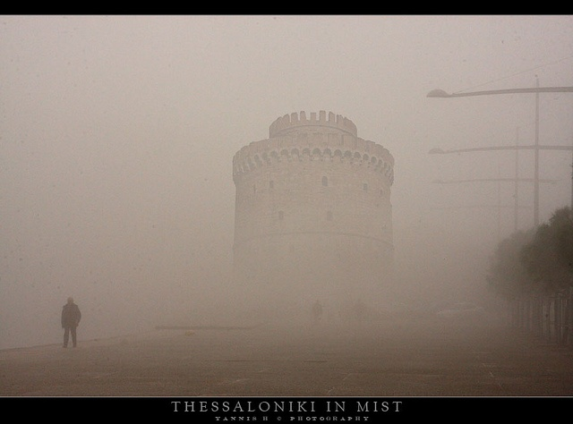 Thessaloniki in Mist by Yannis_H, via Flickr