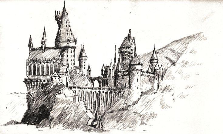 castillo de hogwarts dibujo - Buscar con Google