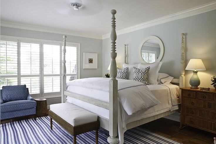 I'm thinking about painting my big pine bed to look like this.